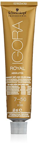 Schwarzkopf Igora Royal Absolutes 7-50 Coloration 60 ml