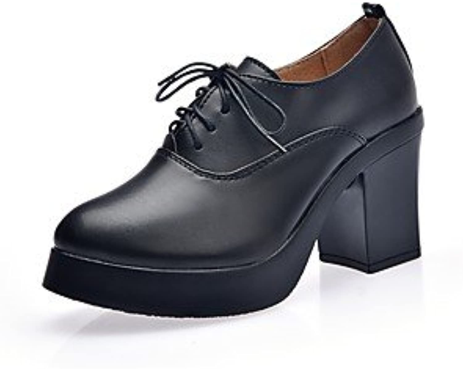 6a4cb0a5071 RTRY RTRY RTRY Women S Heel Bootie Fall Winter Leatherette Casual Office   Amp  Career Black 1In-1 3 4In B075MBMX2V Parent f4c476