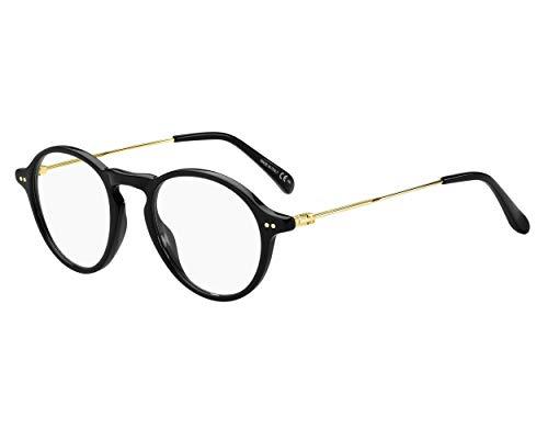 Givenchy Brille (GV-0100 807) Acetate Kunststoff - Metall schwarz - gold hell