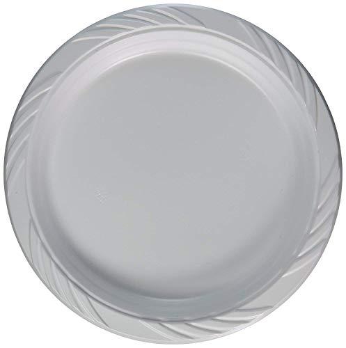 inweg-Teller, Kunststoff, extra stark, 23 cm, Weiß, 50 Stück ()