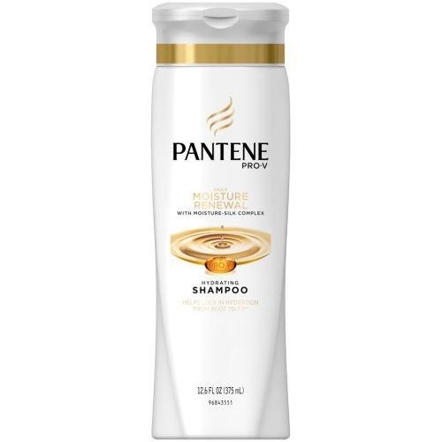 Pantene Shampoo Quotidiano Moisture Rinnovo 370ml (Confezione da 6)