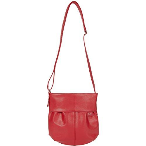 zwei Mademoiselle M5 Unhängetasche 23 cm Red (Rot)