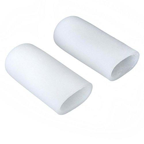 Bluelans® 1 Paar Silikon Gel Zehenkappe zur Vermeidung von Blasen Hühneraugen (Type 1)