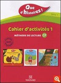 CP, série 1 ; cahier d'activités t.1