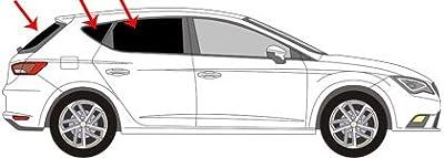 Vitres teintées SANS FILM SEAT Leon III 5 portes après 2012 Art. 24875E-5 Solarplexius