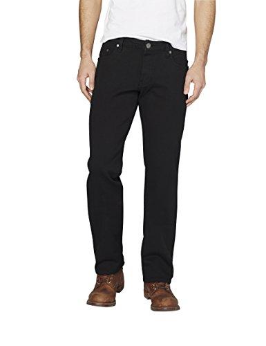 Colorado Denim Herren Jeanshose C930 Stan, Schwarz (Black 90), W34/L34
