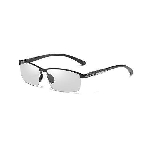 Herren sonnenbrillen Sonnenbrillen.Polarisierte Sonnenbrillen.Sport Polarisierte Sonnenbrillen.Männer Polarisierte Sport-Sonnenbrillen.Sonnenbrillen zum Laufen Radfahren Angeln Golf. ( Color : Black )