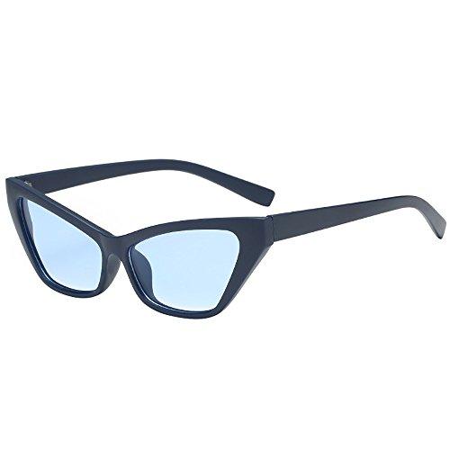 QinMM Frauen Mann Mode Vintage Herzform Große Sonnenbrille Brillen Retro Unisex Ultraleichte Metall Rahmen Nerd Sonnenbrille