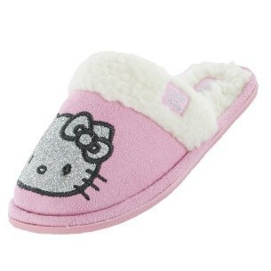 Hello Kitty, Pantofole ragazza, Rosa (Rosa), 13 UK
