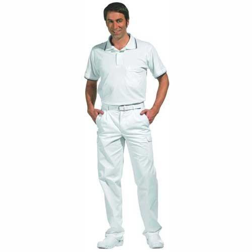 Preisvergleich Produktbild LEIBER Cargo-Hose Damen/Herren ,Farbe : Weiß, Größe : 46