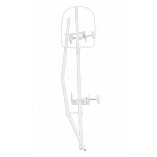 TupTam Universale Himmelstange Babybett Himmelhalter, Farbe: Weiß, Größe: ca. 150 cm