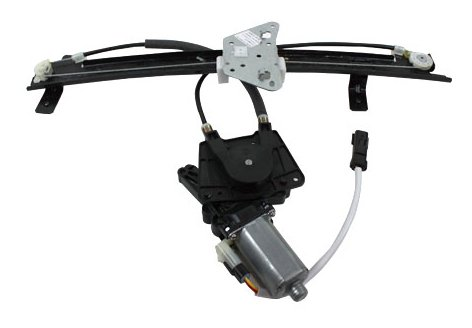TYC 660177 Dodge Durango Front Passenger Side Replacement Power Window Regulator Assembly with Motor by TYC