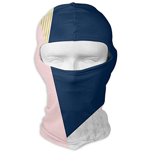 Balaclava Rose Gold Pink Full Face Masks Motorcycle Neck Hood New1 -