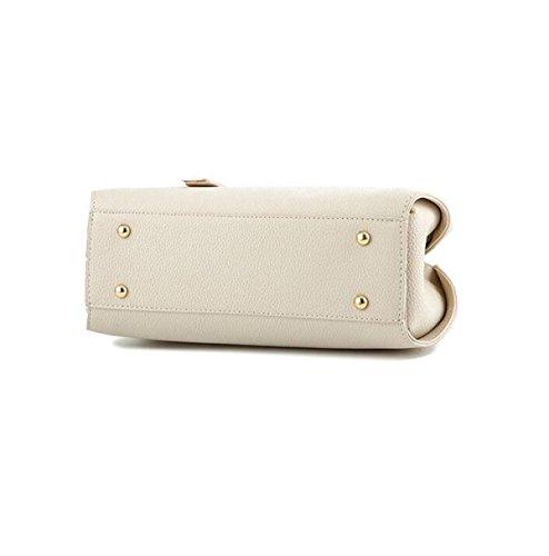 Damen Handtasche Umhängetasche Messenger Bag Mode Mehr Wilde Rucksack Nieten Blue