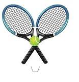 Nouveauté raquettes de tennis et balle 12 comestibles lever plaquettes de hauts de...