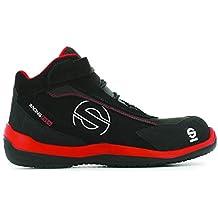 Sparco S0751542RSNR Zapatillas Racing EVO Red Black Talla 42 8eb17f4821a