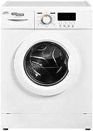 Super General 6 kg Front Loading Washing Machine 6100-NLED, 1000 RPM Washer, Energy-Saving, White, 23 Programs