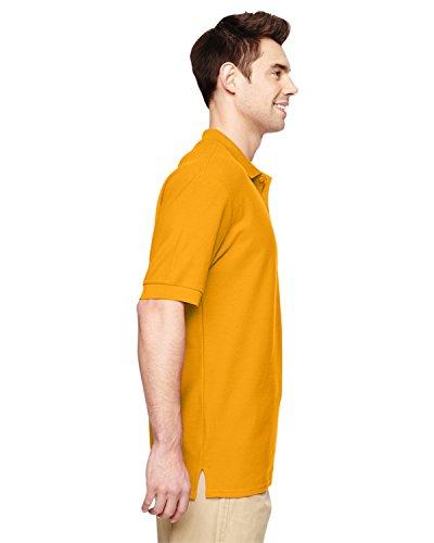 Herren Premium Baumwolle Polo-Hemd von Gildan - 18 Farben verfügbar Gold