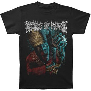 Jsr Cradle Of Filth Vampire Priest T-Shirt Large - Nero