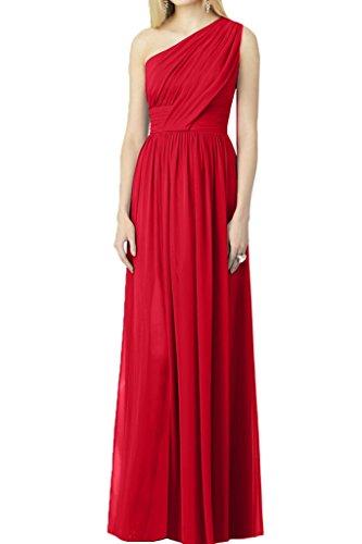 Missdressy - Robe - Plissée - Femme Rouge