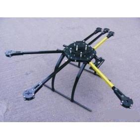 Geeetech XNZ ATG 700-AL 6 axis carbon fiber (CRP) folding frame (FPV)