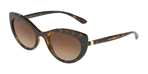 Ray-Ban Damen 0DG6124 Sonnenbrille, Gold (Havana), 53.0