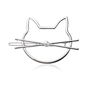 Sangni Haarnadel durchbohrte Perlenkatzenmode