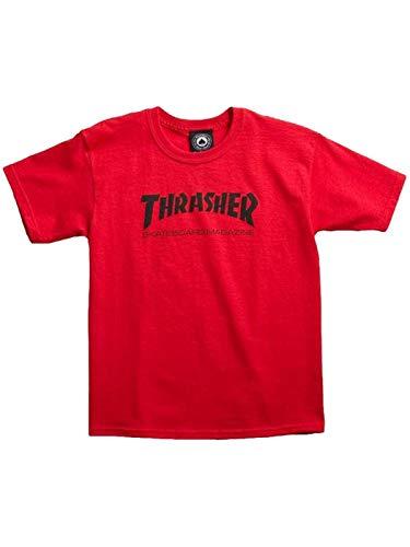 Thrasher t-shirt bambino skate mag rosso (m bambino, rosso)