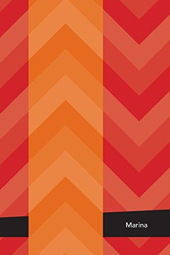 Etchbooks Marina, Chevron, Blank
