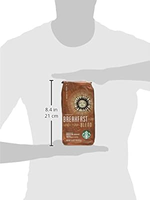 Ground Coffee, Starbucks, 1Lb., Breakfast Blend by Starbucks Corporation