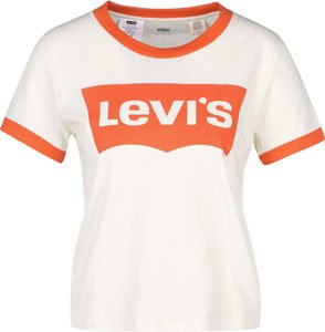 Levi's ® Ringer Graphic W Camiseta marshmallow