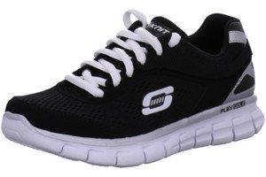 Skechers Synergy Power Shield, Chaussures de sports en salle garçon Noir