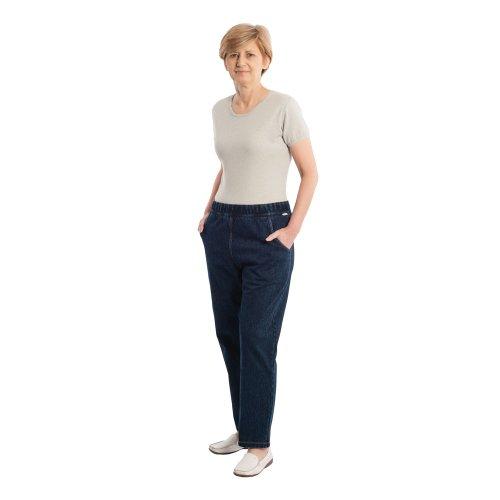 4510 Pflegeoverall Care Active Aktivoverall Jeans mit Rückenreißverschluss für Damen und Herren (S)