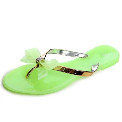 topschuhe24 , Tongs pour femme Verde (verde)