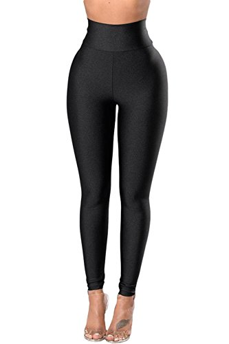 Aranmei Sport Leggings Damen Hohe Taille Stretch Yoga Enge Leggings(Fest Cincher,Small)