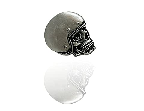 Skull Jet Helm Biker PIN Bobber Free-Biker Cruiser