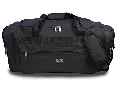 Roamlite RL58MA - Borsone da Palestra per Allenamento e Sport, XL, Tinta Unita, con Tasche Multiple, Impermeabile, capacità: 65 Litri, 66 cm x 31 cm x 31 cm, Nero, L