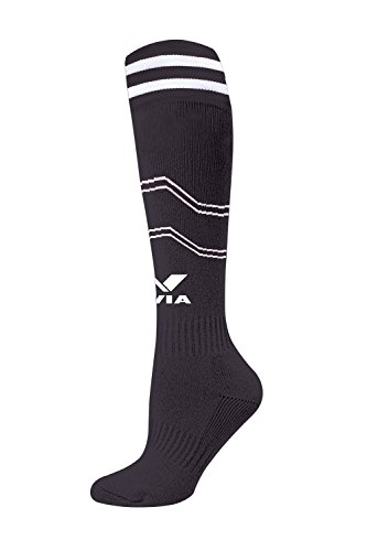 Nivia Soccer Stockings PP Small, (Black)