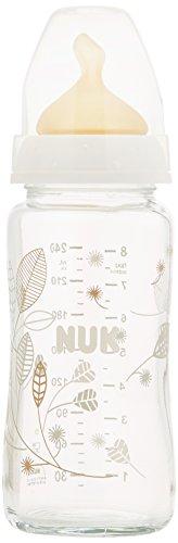 NUK First Choice Glas-Fläschchen mit Latex-Sauger Sortiert