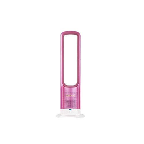 PIAOL Fernbedienung, Pure Cool Luftreiniger TurmventilatorFür Hauptschlafzimmer Babyzimmer Büro Im Freien Klingenloser Heißer Oder Kalter Turmventilator,Pink