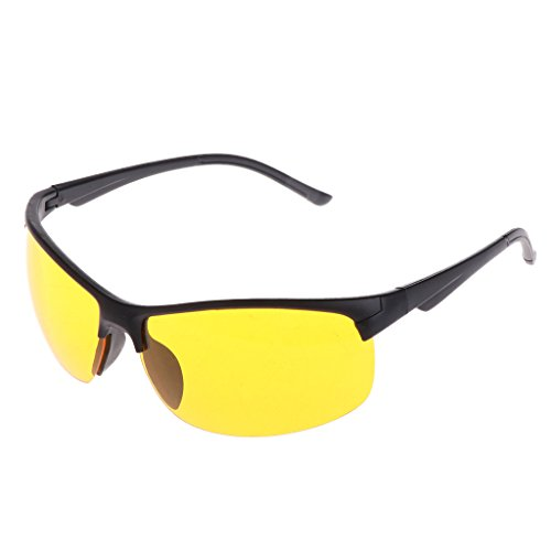 Duyummy Nachtsichtbrille Angeln Radfahren Outdoor Sonnenbrille Schutz Unisex UV400