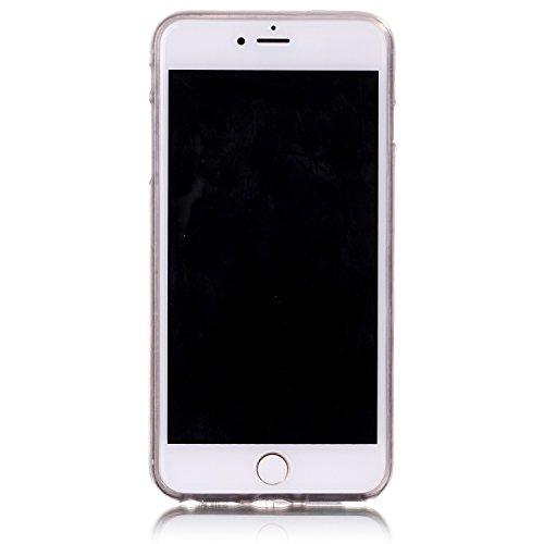 """inShang Hülle für iPhone 7 Plus 5.5"""" ,Ultra Schlank und leicht TPU Bequem Schutzhülle Rückcover (Back Case) design für Handy iPhone 7 Plus 5.5 inch, lion"""