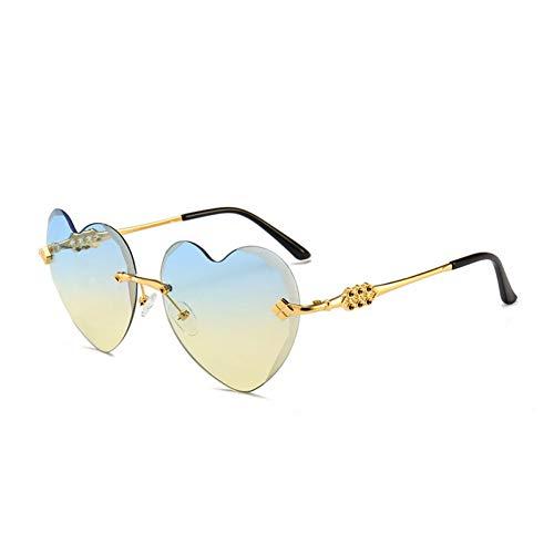 Chengzi occhiali da sole senza cuore love eyewear occhiali da sole cat eye oculare occhiali da sole donna rosso