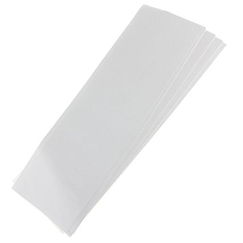 Gazechimp 100pcs Set - Wiederverwendbare Papier Für Haare Strähnchen Färben Friseur Haarstyling Zubehör
