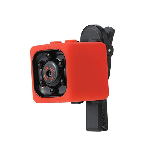 Hengzi Mini Full HD 1080P DV Action Hidden Security Motion Cam Night Vision Camera (Rot) Night-vision-security-cam