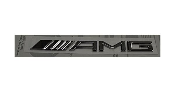 Amg Emblem Kotflügel Koffer Kofferraumdeckel Original Logo Emblem Für Modelle Von 2012 Auto