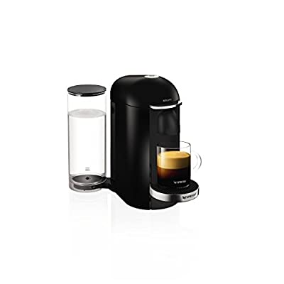 Nespresso Vertuo Plus, Black Finish by Krups (Renewed)