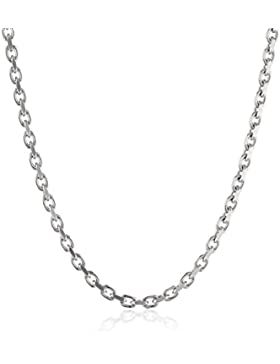 Engelsrufer Damen-Ankerkette 4fach diamantiert Stärke 2,35mm 925 Silber rhodiniert 45 cm - ERNA-45-235S