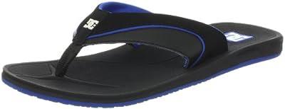 DC Shoes Peru Mens Sandal D0303088 - Chanclas de cuero nobuck para hombre