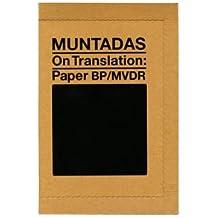 Muntadas. On Translation (ACTAR)